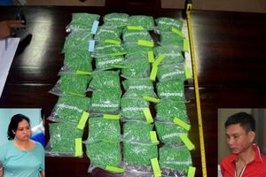 Bắt đôi nam nữ vận chuyển 30.000 viên ma túy tổng hợp tại ga Huế