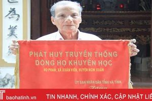 Về nơi 10 năm dẫn đầu huyện phía Bắc Hà Tĩnh trong thành tích học tập