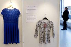 Triển lãm những trang phục của nạn nhân bị hiếp dâm gây chấn động