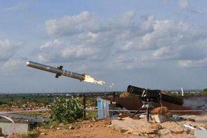 Ấn Độ thử nghiệm thành công hệ thống tên lửa chống tăng có điều khiển