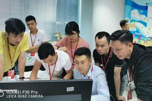 10 học viên từ các trường đại học, học viện của Bộ Công an được đào tạo đặc biệt về công nghệ