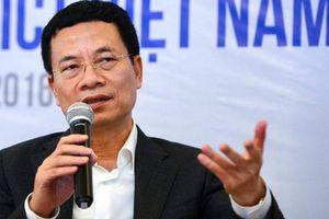 Bộ trưởng TT&TT làm Phó Chủ tịch Ủy ban Quốc gia về Chính phủ điện tử