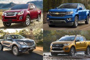 Xe bán tải đua nhau giảm giá, tham vọng bám đuổi Ford Ranger