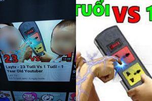 Dân mạng phẫn nộ với kênh YouTube dạy trẻ em dùng ổ điện để giật người lớn