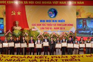 Đại hội đại biểu các dân tộc thiểu số tỉnh Lâm Đồng lần thứ III, nhiệm kỳ 2019 - 2024