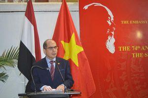 Thúc đẩy quan hệ Việt Nam -Ai Cập bằng cả trí tuệ và trái tim