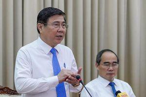 TP.HCM: Giám đốc Sở Tài nguyên môi trường cùng 7 Chủ tịch UBND 7 quận huyện bị kiểm điểm