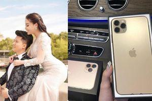 Hết tăng 10kg, nữ giảng viên Âu Hà My lại khoe Iphone 11 Pro Max mới 'sốt sình sịch' chồng tặng và tiết lộ về chồng doanh nhân