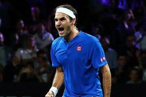 Federer ngược dòng hạ Kyrgios tại Laver Cup