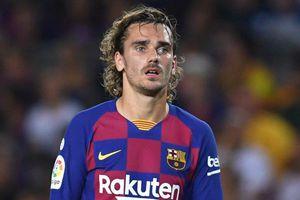 Griezmann và những ngôi sao Barca gây thất vọng ở trận thua 0-2