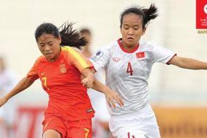 Nữ U16 Việt Nam dừng bước tại VCK U16 nữ châu Á 2019