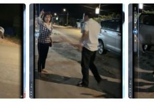 Trung tá Công an cùng vợ đi đòi nợ chửi bới, văng tục giữa đường: Vi phạm vẫn chưa được xử lý