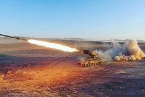 Nga khoe sức mạnh pháo Solntsepyok trong cuộc tập trận Tsentr-2019