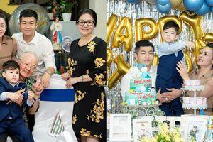 Nhật Kim Anh cùng chồng cũ tổ chức tiệc sinh nhật cho con trai