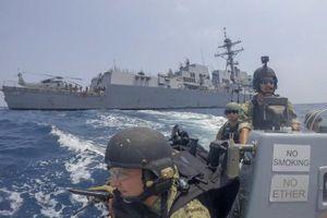 Đối đầu Mỹ - Trung thể hiện qua tần suất và mục đích tập trận