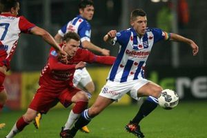 CLB Heereveen cầm hòa FC Utrecht trong ngày Văn Hậu không được vào sân