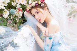 Lilly Luta 'hóa' công chúa xinh đẹp với góc nghiêng thần thánh
