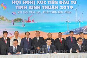 Chính phủ sẽ đồng hành cùng Bình Thuận phát triển kinh tế