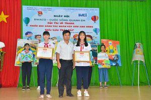 225 học sinh tham gia ngày hội 'BWACO - Cuộc sống quanh em'