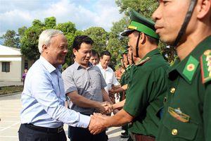 Phó Chủ tịch Quốc hội Uông Chu lưu thăm và làm việc tại tỉnh Hà Giang