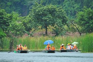 Trang An complex receives over 5 million tourists in August