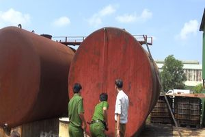 Đường dây sản xuất hơn 300.000 lít dầu DO giả ở Quảng Ngãi