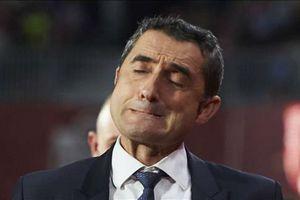 Dàn sao Barca mất niềm tin với HLV Valverde