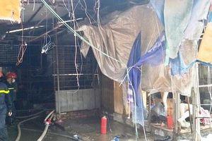 Đông Anh thành lập tổ công tác khắc phục hậu quả vụ cháy chợ Tó
