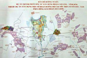 Cao tốc bắc - nam qua Ninh Thuận chậm tiến độ giải phóng mặt bằng