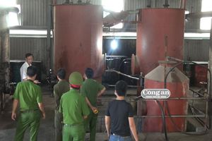 Phá đường dây sản xuất, buôn bán hàng trăm ngàn lít dầu Diol giả