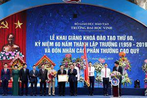 Phó Thủ tướng Chính phủ Vương Đình Huệ: Xây dựng Trường Đại học Vinh thành trung tâm đổi mới sáng tạo của cả nước