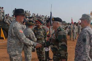 Mỹ và Ấn Độ tập trận lớn nhất từ trước đến nay