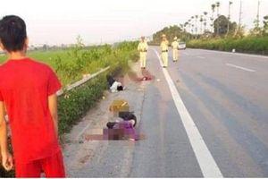 Vụ tai nạn trên Quốc lộ 18: Bố uống rượu tự gây tai nạn