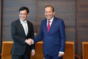 Việt Nam, Singapore chia sẻ lập trường về diễn biến ở Biển Đông