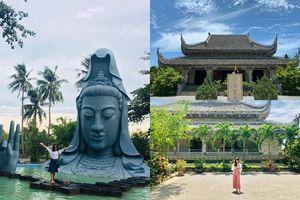 Độc đáo ngôi chùa có pho tượng Quan Âm nổi lên từ biển lớn nhất Việt Nam
