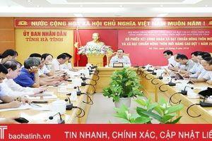 Hà Tĩnh có thêm 16 xã đạt chuẩn nông thôn mới và nông thôn mới nâng cao