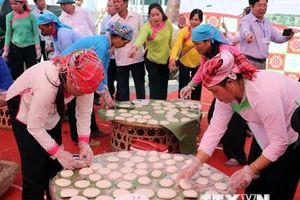 Lai Châu: Đặc sắc Hội thi giã bánh dày mang đậm nét văn hóa