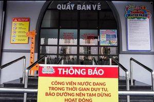 Công viên nước Thanh Hà đóng cửa sau vụ việc bé trai 6 tuổi tử vong thương tâm