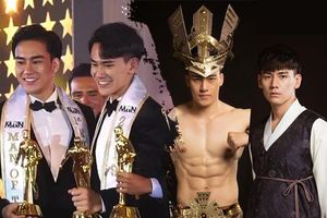 Tưởng Ngọc Minh cùng mỹ nam Hàn Quốc dắt tay nhau giành giải Á quân - Quán quân Man Of The Year 2019