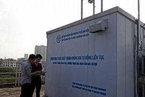 Hà Nội tiếp nhận 18 thiết bị cảm biến quan trắc chất lượng không khí