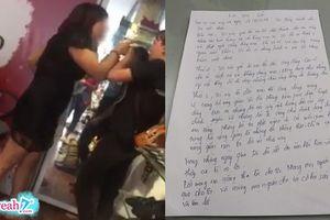 Chủ shop giày dép tát nhân viên viết tâm thư xin lỗi sau khi bị ném đá dữ dội và nhận án phạt hành chính