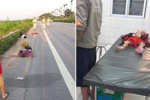 Gia đình 4 người đi trên xe máy bị TNGT ở Sóc Sơn: Thêm bé 1 tuổi tử vong