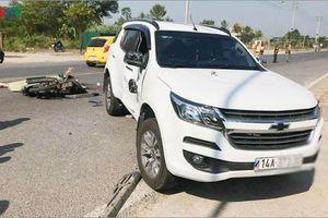 Tai nạn ở đại lộ Hòa Bình khiến 1 người chết, 1 người bị thương