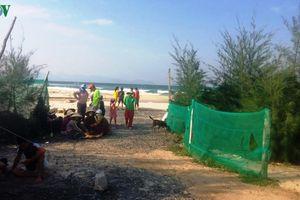 Huy động nhiều phương tiện tìm sinh viên mất tích do tắm biển