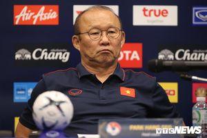 Trực tiếp HLV Park Hang Seo trả lời phỏng vấn về ĐT Việt Nam