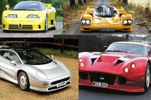 10 siêu xe ấn tượng nhất thập niên 1990