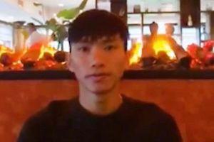 Văn Hậu gửi lời chúc CLB Hà Nội trước trận chung kết