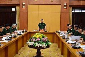 Hội nghị Tiểu ban văn kiện và Tiểu ban nhân sự Đại hội Đảng bộ Quân đội lần thứ XI