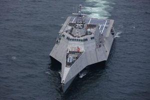 Hải quân Mỹ tiến hành đặt ky tàu tác chiến ven bờ Savannah (LCS 28)