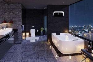 Xu hướng biến phòng tắm thành không gian thư giãn